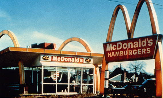 McDonald's Restaurant in British Columbia
