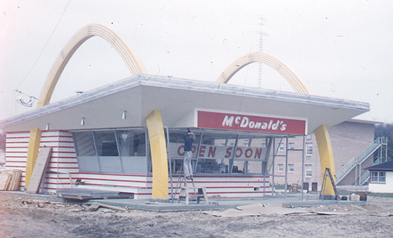 McDonald's Restaurant Construction