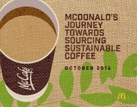 The coffee sustainability report cover