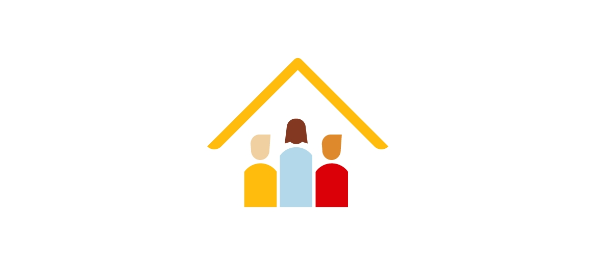 House with people icon